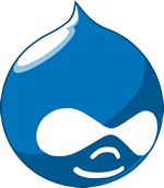 One click install Drupal logo